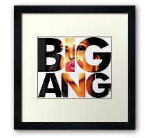 big ang Framed Print