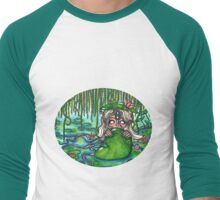 Swamp Goddess Men's Baseball ¾ T-Shirt
