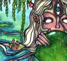 Swamp Goddess Sticker