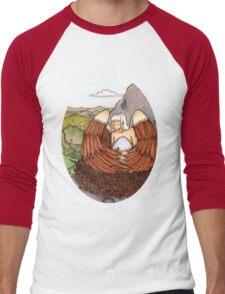 Eagle Goddess Men's Baseball ¾ T-Shirt