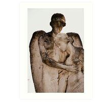 Angel's Embrace Art Print