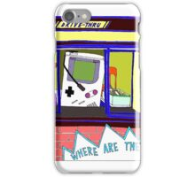 Broad City Where Are They Now Gameboy iPhone Case/Skin