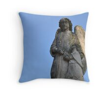 Comforting Angel Throw Pillow
