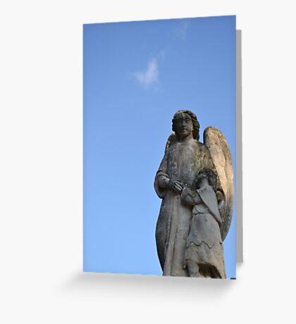 Comforting Angel Greeting Card