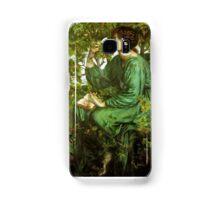 Dante Gabriel Rossetti - The Bower Meadow Samsung Galaxy Case/Skin