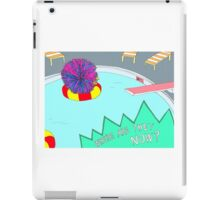 Broad City Where Are They Now Koosh Ball iPad Case/Skin