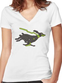 Zygarde 10% forme Women's Fitted V-Neck T-Shirt