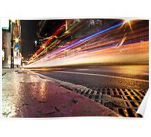 Bangkok Night Life Poster