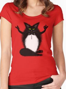 ZIGGY THE CAT Women's Fitted Scoop T-Shirt