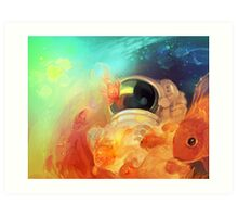 sea of stars Art Print