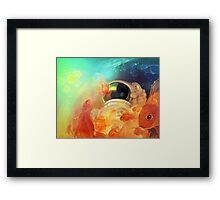 sea of stars Framed Print