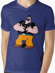 Brutus vs. Bluto Mens V-Neck T-Shirt