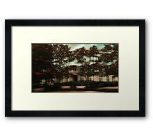 Modern Urban Apartments Framed Print