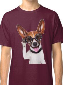 Dog Wearing Glasses 2 Classic T-Shirt