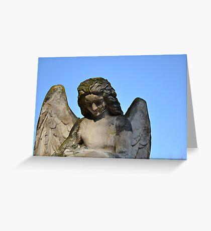 Weathered Angel Greeting Card