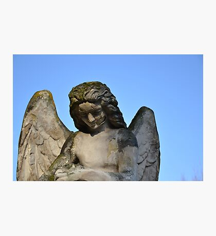 Weathered Angel Photographic Print