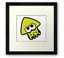 splatoon squid Framed Print
