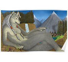 Native American Werewolf Poster
