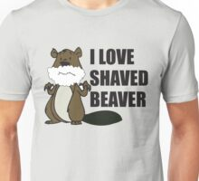 shaved beaver Unisex T-Shirt