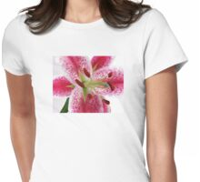 Stargazer In Snow Womens Fitted T-Shirt