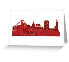 San Fran Skyline Greeting Card