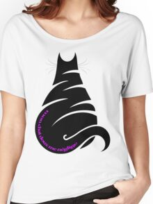 MY CAT NEGLECTS ME Women's Relaxed Fit T-Shirt