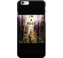 Forest poet iPhone Case/Skin