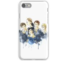 Cabeswater Crew (watercolors - Light) iPhone Case/Skin