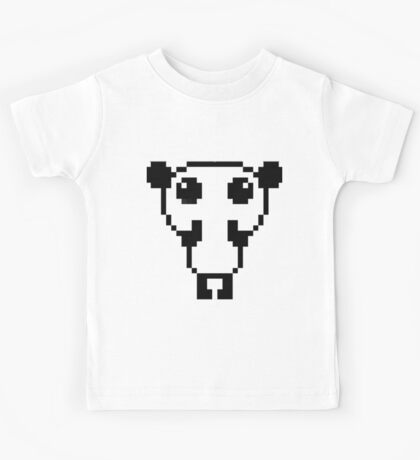 Cute pixel art panda Kids Tee