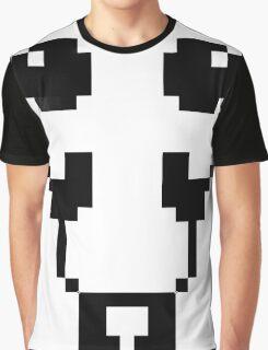 Cute pixel art panda Graphic T-Shirt
