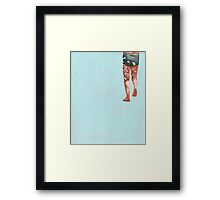 Big Splash Framed Print