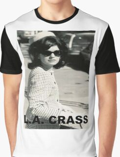 Jackie Kennedy Onassis - L.A. CRASS Graphic T-Shirt
