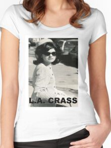 Jackie Kennedy Onassis - L.A. CRASS Women's Fitted Scoop T-Shirt