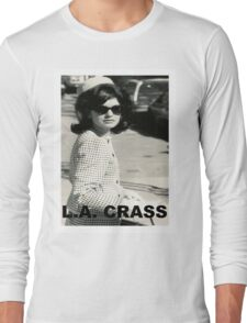 Jackie Kennedy Onassis - L.A. CRASS Long Sleeve T-Shirt