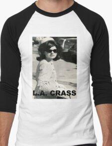 Jackie Kennedy Onassis - L.A. CRASS Men's Baseball ¾ T-Shirt