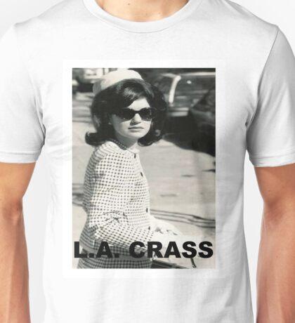 Jackie Kennedy Onassis - L.A. CRASS Unisex T-Shirt