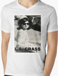 Jackie Kennedy Onassis - L.A. CRASS Mens V-Neck T-Shirt