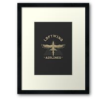 Loftwing Airlines Framed Print