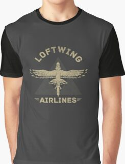 Loftwing Airlines Graphic T-Shirt