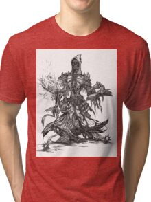 Lich unded mage Tri-blend T-Shirt