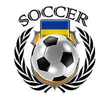 Ukraine Soccer 2016 Fan Gear Photographic Print