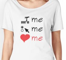 Grey's Anatomy --- Pick Me, Choose Me, Love Me (symbols) Women's Relaxed Fit T-Shirt