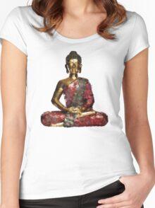 Buddha Women's Fitted Scoop T-Shirt
