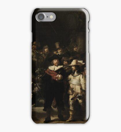 Rembrandt Harmensz van Rijn - The Night Watch  iPhone Case/Skin