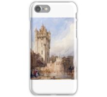 David Roberts - Kurfürstliche Burg, Eltville, on the Rhine, Germany iPhone Case/Skin