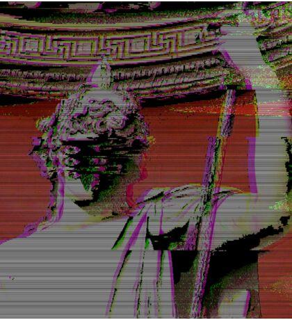 Glitch Roman Eve Sticker
