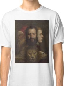 Tiziano Vecellio, Titian - An Allegory of Prudence Classic T-Shirt