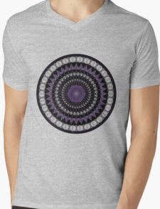 Mandala and stain glass Mens V-Neck T-Shirt