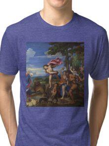 Tiziano Vecellio, Titian - Bacchus and Ariadne  Tri-blend T-Shirt
