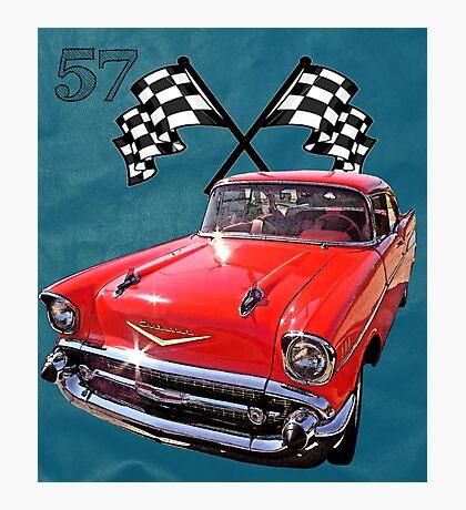 57 Chevy Photographic Print
